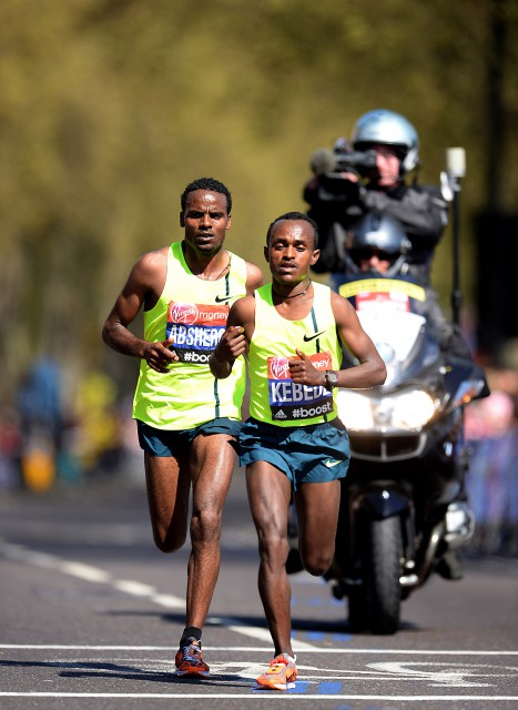 Londra 13/04/2014 Virgin London Marathon 2014-Maratona di Londra 2014,nella foto: Tsegaye Kebede - foto di ColomboA.G.Giancarlo Colombo