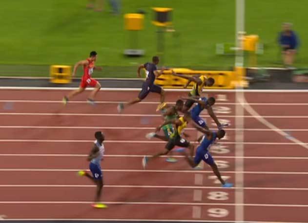16 Leichtathletik Wm In London Am 5 August 2017 Usain Bolt