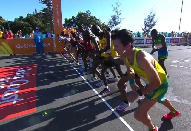 cwg-2018-marathon-men-start