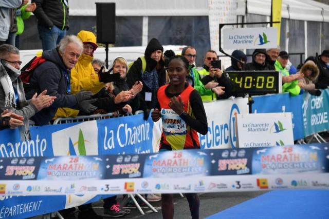 Premiere feminine 28e marathon Jean Vigo. La Rochelle, le 25 11 2018. PHOTO XAVIER LEOTY 20181125_photo_XL3_6132
