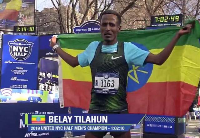 nyc-half-winner-tilahun